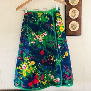 1960's Handmade Wrap Skirt